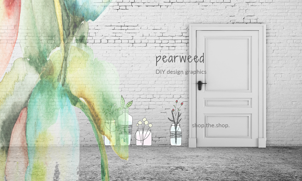 pearweed DIY graphics